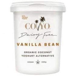 ORGANIC COCONUT YOGHURT VANILLA BEAN 500GM