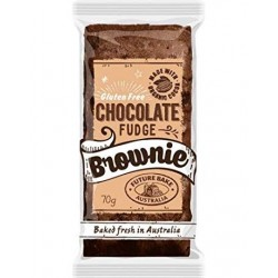 GLUTEN FREE CHOCOLATE FUDGE BROWNIE 70GM