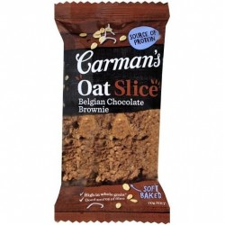 BELGIAN CHOCOLATE BROWNIE HEALTH SNACKS OAT SLICE 70GM