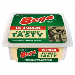 TASTY SLICED CHEESE 250GM