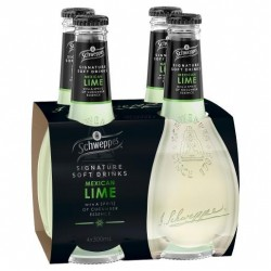 SIGNATURE SERIES MEXICAN LIME WITH SPRITZ CUCUMBER 4X300ML