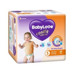 WALKER NAPPIES BOYS AND GIRLS 12-17KG 17PK