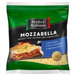 MOZZERALLA SHREDDED CHEESE 450GM