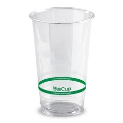 BIOCUP CLEAR PLASTIC CUP 700ML 50S