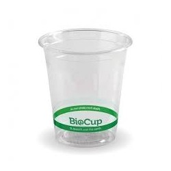 CLEAR CUP 280ML PLASTIC 100S