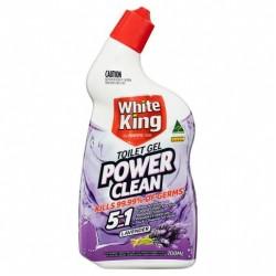 POWER CLEAN TOILET GEL LAVENDER 700ML