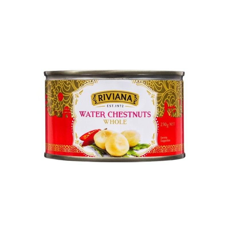 WHOLE WATER CHESTNUTS 230GM
