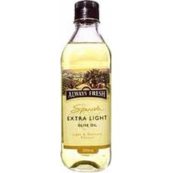 100% EXTRA LIGHT SPANISH OLIVE OIL 500ML
