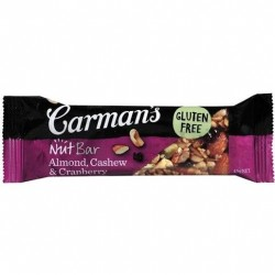 NUT BAR ALMOND CASHEW CRANBERRY 45GM