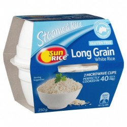 LONG GRAIN WHITE RICE CUPS...