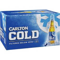 COLD MID BEER BOTTLE 24X355ML