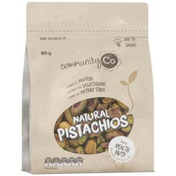 PISTACHIOS NATURAL RAW 80GM