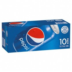 PEPSI COLA SOFT DRINK 10X375ML