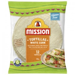 WHITE CORN TORTILLA 312GM 12S