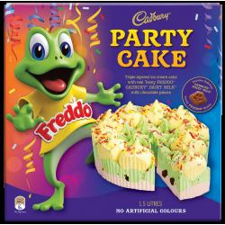 FREDDO ICE CREAM CAKE PARTY...