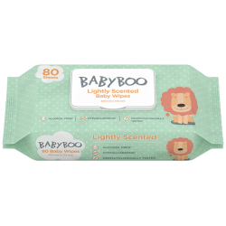 BABY WIPES LIGHTLY SCENTED...
