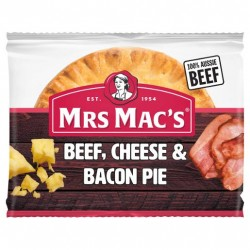 BEEF CHEESE AND BACON PIE...