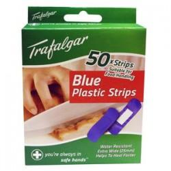 BLUE PLASTIC BAND AID...