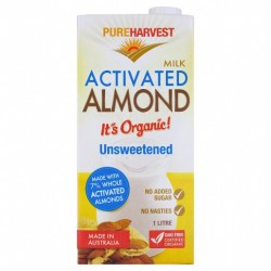 ACTIVATED ORGANIC ALMOND...