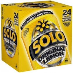 SOLO LEMON CUBE 24X375ML**