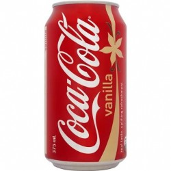 VANILLA COKE 24X375ML