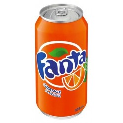 ORANGE SOFT DRINK 375ML