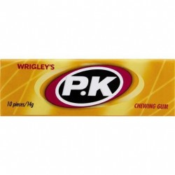 PK CHEWING GUM REGULAR SINGLES 30X14G