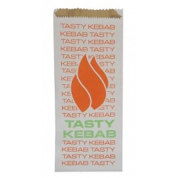 FOIL LINED KEBAB BAG 250S