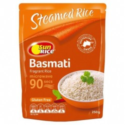 90 SECOND INDIAN BASMATI RICE 250GM
