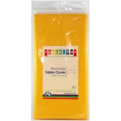 YELLOW TABLE COVER 1EA
