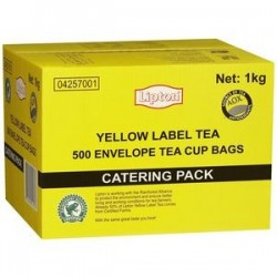 YELLOW LABEL TEA BAG 500S