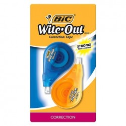 WIPEOUT MINI CORRECTION TAPE 2PK