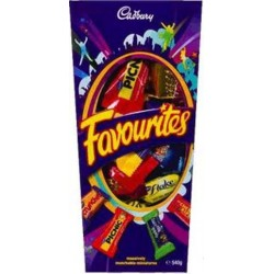 CHOC FAVOURITES 540GM