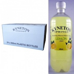 LEMON MINERAL WATER 600ML