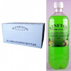 LEMON LIME MINERAL WATER 600ML