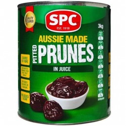 PITTED PRUNES IN NATURAL JUICE 3KG
