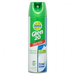 DISINFECTANT SPRAY CRISP LINEN 175G