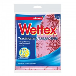 WETTEX CLOTH 3PK