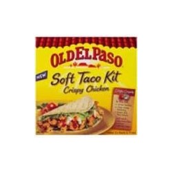 CRISPY CHICKEN SOFT TACO KIT 370GM