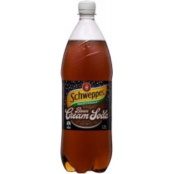 BROWN CREAMY SODA TRADITIONAL SOFT DRINK 1.25L