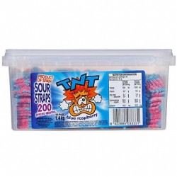 BLUE RASPBERRY SOUR STRAPS 200S