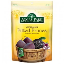 PITTED PRUNES 500GM