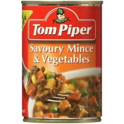 SAVOURY MINCE AND VEGETABLES 400GM