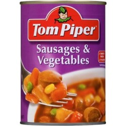 SAUSAGES AND VEGETABLES 400GM