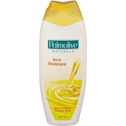 NATURALS RICH MOISTURE MILK AND HONEY SHOWER MILK 500ML
