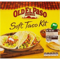 SOFT TACO KIT 405GM