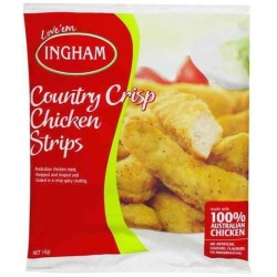 COUNTRY CRISP CHICKEN STRIPS 1KG