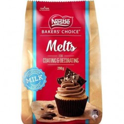 MILK CHOCOLATE MELTS 290GM