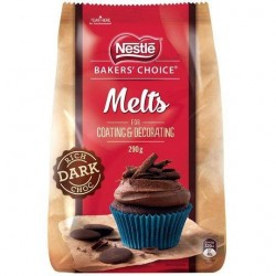 DARK CHOCOLATE MELTS 290GM