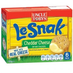 LE SNAK NATURAL CHEESE 132GM 6PK